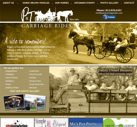 P & T Carriage Rides | Larry Sample
