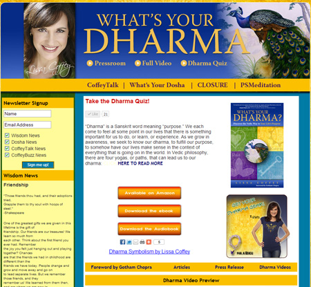What's Your Dharma | Lissa Coffey
