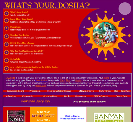 What's Your Dosha, Baby? | Lissa Coffey